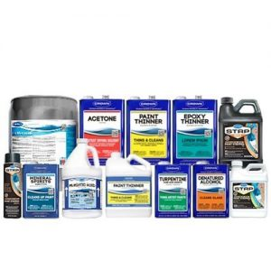Paint Supply Chemicals and Thinners